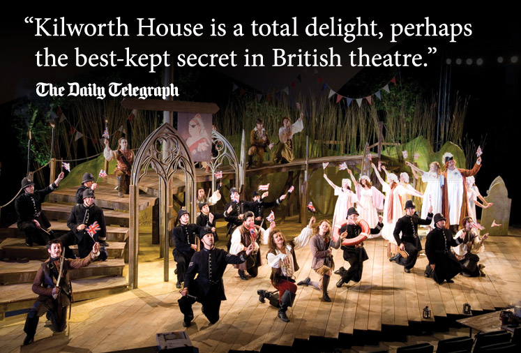 Kilworth House is a total delight, perhaps the best-kept secret in British theatre