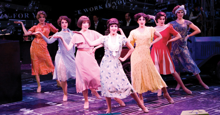 Crazy For You at Kilworth House Theatre - 2009
