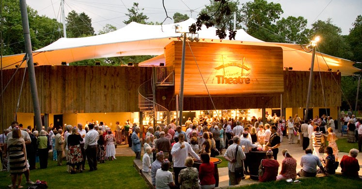 View of the bar at Kilworth House Theatre
